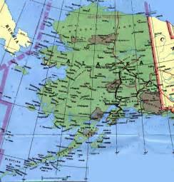 us map alaska state alaska map