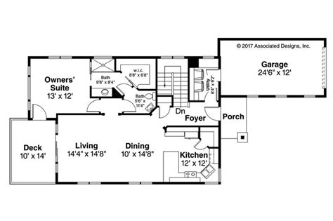 house plan com new country house plan creekside 31 067 by associated