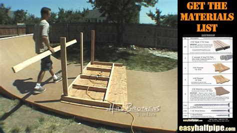 how to build a halfpipe in your backyard 100 how to build a halfpipe in your backyard about