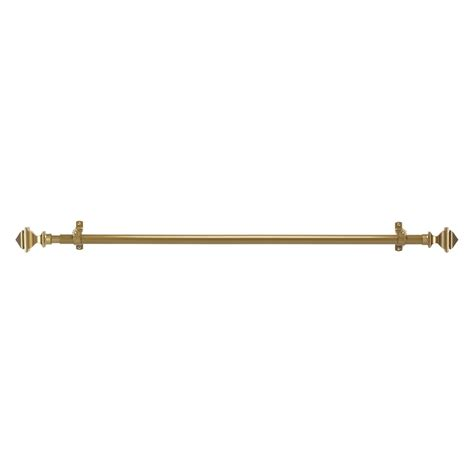 temporary curtain rod achim buono ii bach decorative rod finial curtain rods