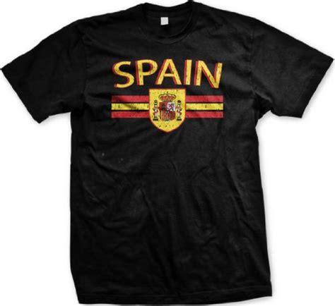 T Shirt Spain 1 spain crest international soccer t shirt espana soccer