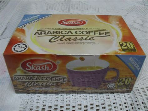 Kopi Tongkat Ali Ginseng Coffee jc kiosk kopi arabica tongkat ali ginseng