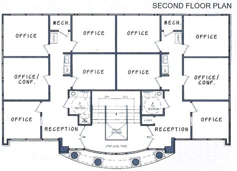 2 storey commercial building floor plan 17 genius two story office building plans house plans
