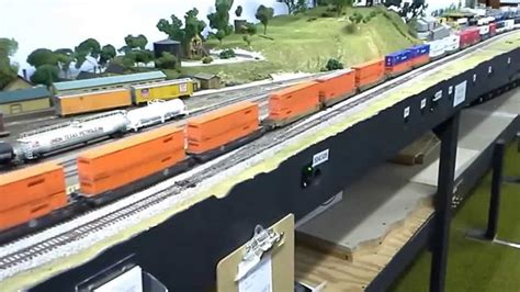 ho layout youtube bnsf z train at the cmrs ho scale layout crockett ca