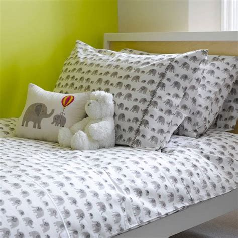 Grey And White Single Duvet Cover Grey Elephant Single Duvet Cover By Lulu And Nat