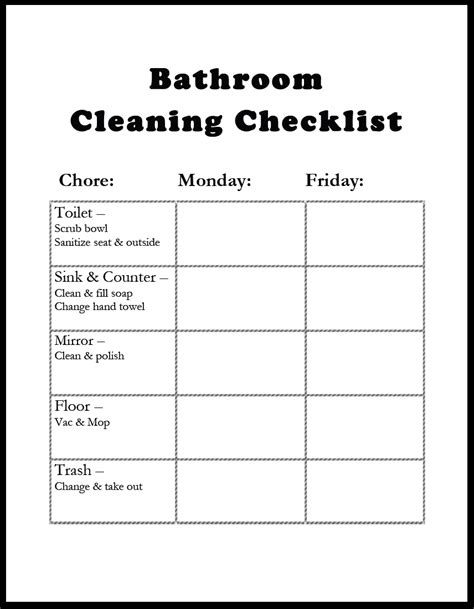 bathroom supplies list amazing of latest awesome bathroom cleaning checklist tem