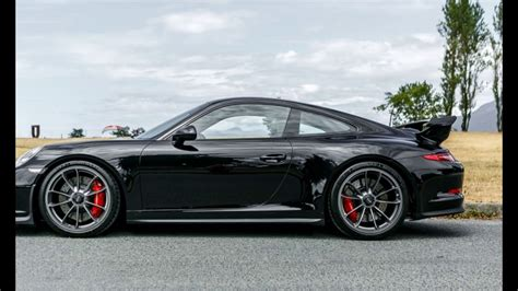 black porsche gt3 porsche 911 gt3 black metallic youtube