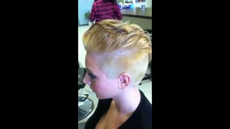 hair cutting step by step miley cyrus getting my miley cyrus inspired haircut medium to super