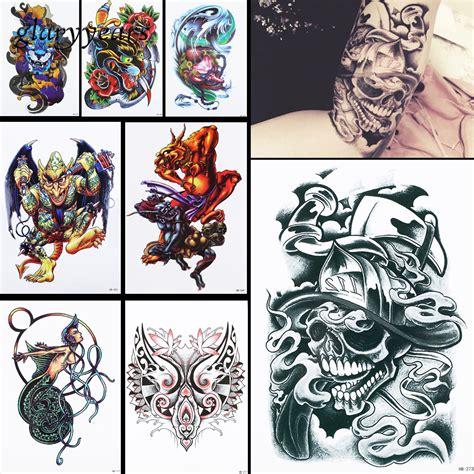 Hb674 Tatto Temporer Stiker get cheap draw aliexpress alibaba
