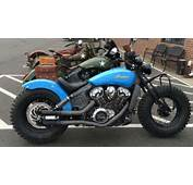 Indian Motorcycle Dealers Build Custom Scouts  Hot Bike