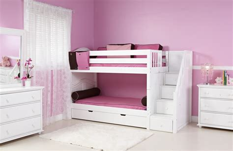 girls bunk beds with stairs choose design for bunk beds for girls midcityeast