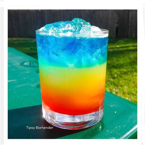 rainbow cocktail 24 best rainbow drinks images on drink recipes