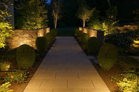lighting portfolio landscape path light  illuminating