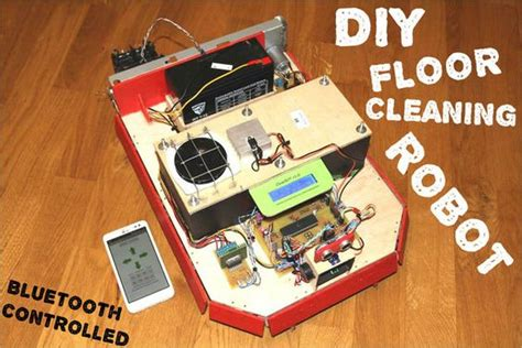 Floor Cleaning Robot Project by Cleanbot Your Diy Floor Cleaning Robot Pictures Of Floor Cleaning And Pictures