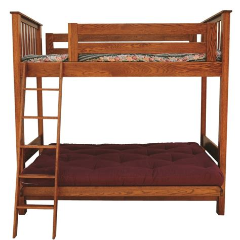 Futon Loft Bed by Futon Loft Bed Amish Made In Usa Country Furniture
