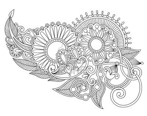 flower pattern line art cool patterns and designs to draw hand draw line art