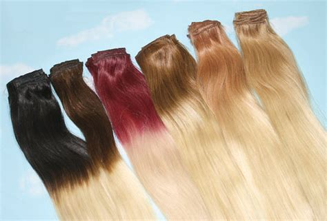 hair extension tips handmade bleached tips ombre hair extensions human by