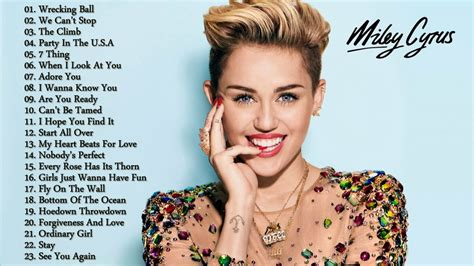 Best Songs by Miley Cyrus Greatest Hits Cover 2017 Best Songs Of Miley