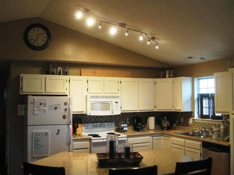 Track Lighting Kitchen Wonderful Kitchen Track Lighting Ideas Midcityeast