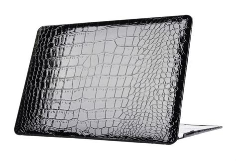 Aligator Macbook 13 Leather Cover Macbook Sleeve macbook pro leather 13 retina crocodile promotion shop for promotional macbook pro leather