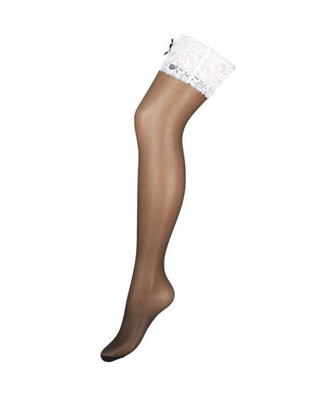 summers white lace top hold ups in black summers white lace top hold ups in black lyst