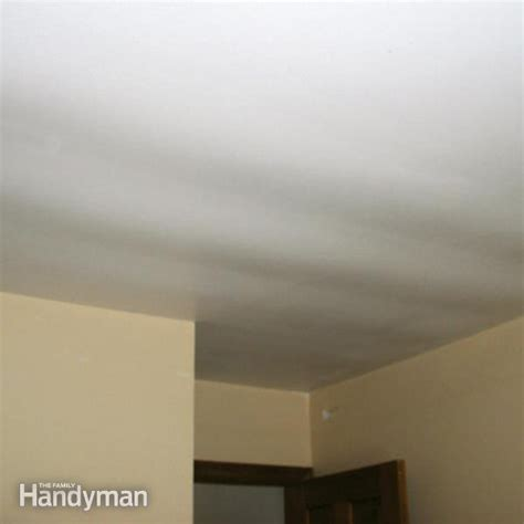 Ceiling Repair by Ceiling Repair Fix A Sagging Ceiling The Family Handyman