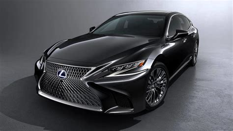 lexus cars 2018 lexus ls500h charges up car news carsguide