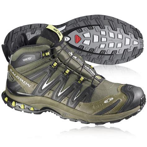 mid trail running shoes salomon xa pro 3d mid tex waterproof trail running