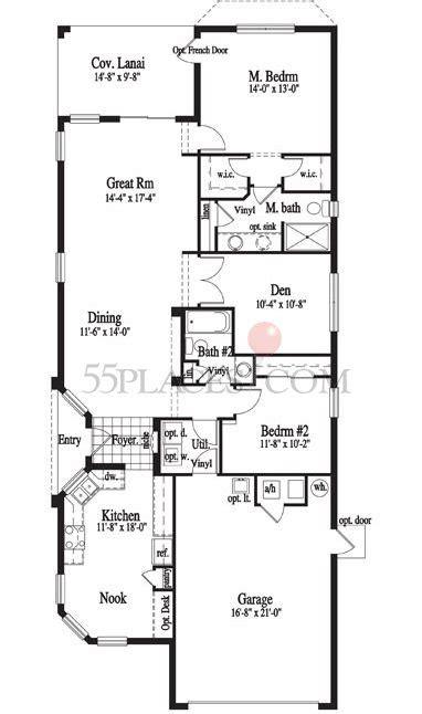 solivita floor plans hemingway floorplan 1505 sq ft solivita 55places com