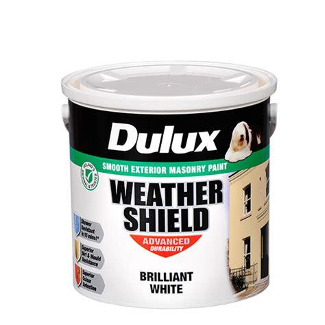 Cat Tembok Dulux Pentalite 2 5l White dulux weathershield masonry paint brilliant white 2 5 litre tj o quot mahony