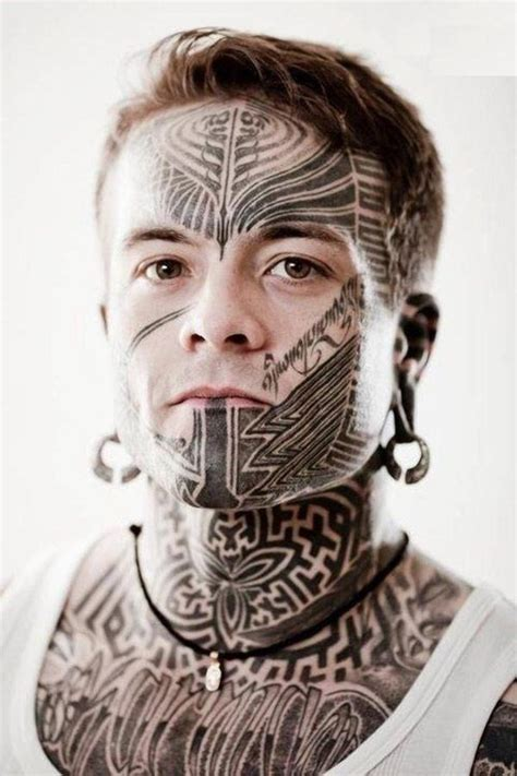 best face tattoos designs for 2015 collections