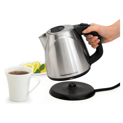 Christmas Kitchen Ideas by Chef S Choice 673 Cordless Electric Kettle