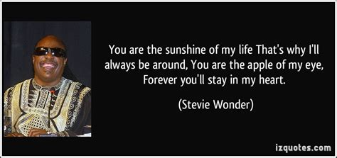 apple of my eye quotes stevie wonder lyric quotes quotesgram