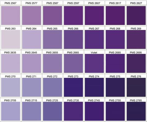 purple color code 25 best pms color chart ideas on pantone