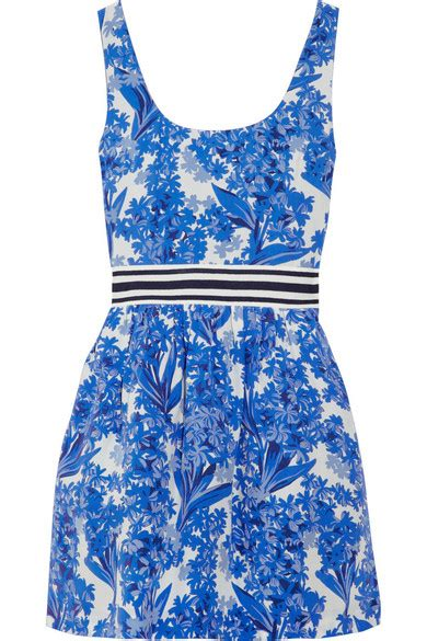 Friday Afternoon Dresses From Net A Porter by Couture Printed Silk Crepe Dress Net A Porter