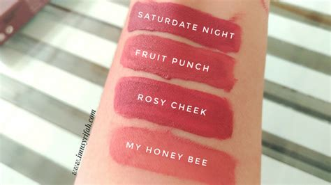 wardah exclusive matte lip new shades swatches and