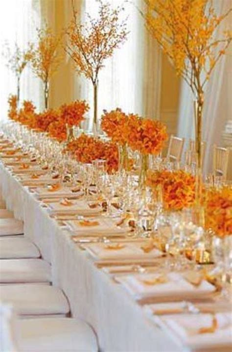 fall themed table decorations 6 beautiful wedding table centerpieces and arrangements
