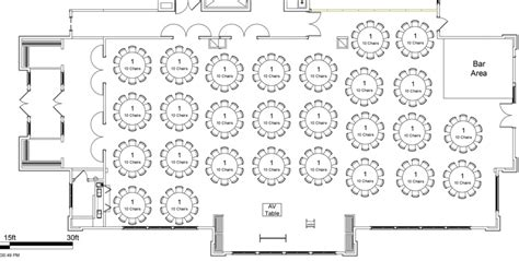 banquet event layout events stonewater country club