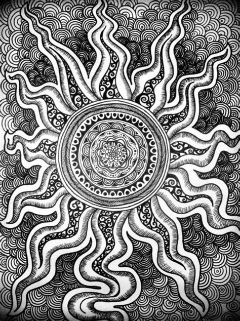 rhythmic pattern drawing just pick up a pencil and start drawing don t anticipate