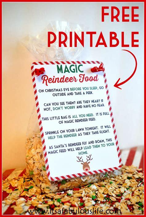 printable magic reindeer poem alcohol inks on yupo reindeer food poem magic reindeer