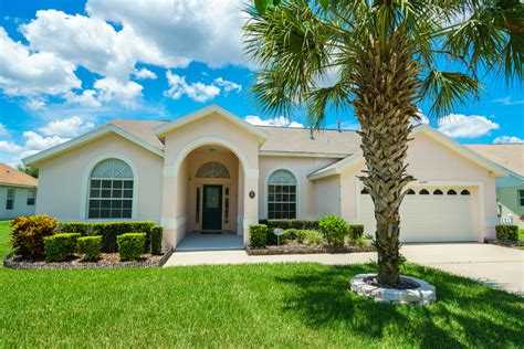 orlando vacation rentals spacious 4 bedroom 3 bathroom