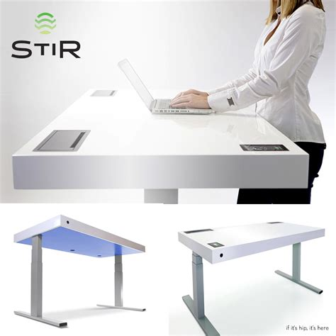 Stir Desks by High Tech Desk With High Price Tag Has High Hopes The