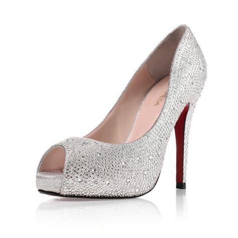 Wedding Shoes Peep Toe by Peep Toe Wedding Shoes Www Shoerat