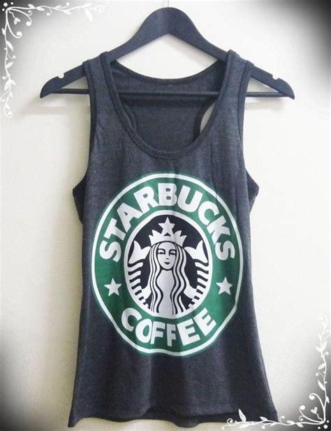 Tangtop Starbuck tank top size s l grey starbucks tank top