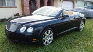 2007 Bentley Convertible For Sale 2007 Bentley Continental Gtc Luxury Convertible Coupe Low