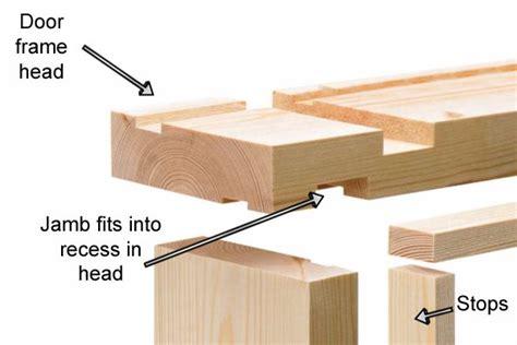 How To Fit Door Lining by Door Frames