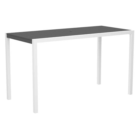 Rectangle Bar Table Polywood 174 Mod Rectangle Bar Table Pw 8302