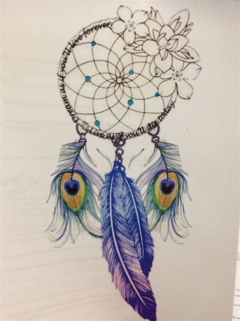 dreamcatcher tattoo feathers dream catcher with peacock feathers must have