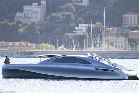 que motor boat mercedes benz designed a yacht but only 10 will be built