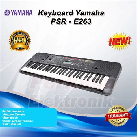 Kaki Keyboard Yamaha Jual Keyboard Yamaha Psre263 Psr E 263 Pengganti Psr